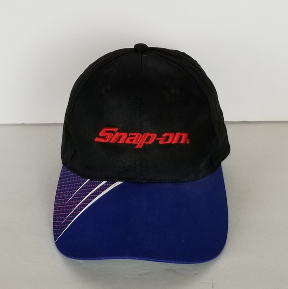 Snap On Other - NEW Snap On Tools Hat Dark Blue/Black/Red Embroide